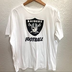 The Nike Tee Raiders Crewneck Athletic T Shirt